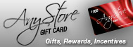 Any Store Gift Card - Gifts, Rewards, Incentives